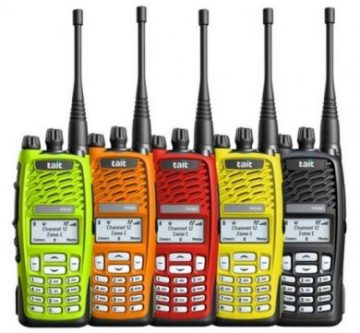 Tait two way radios